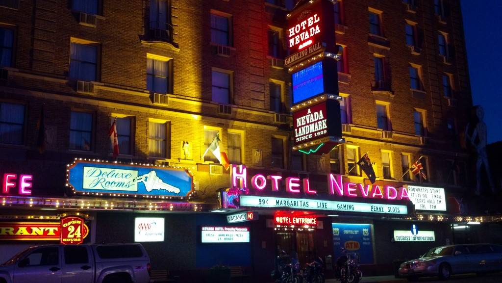 Hotel Nevada in Ely, Nev. (Photo by Michael E. Grass)