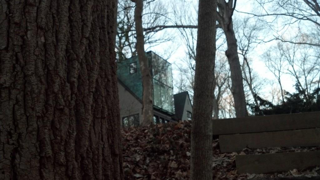 A house on Audubon Terrace adjacent to Soapstone Valley on Dec. 27, 2013
